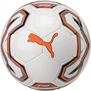 Puma Futsal 1 - Zapatillas de Deporte para Hombre - 08297301, 4, Puma White-Shocking Orange-Puma Black