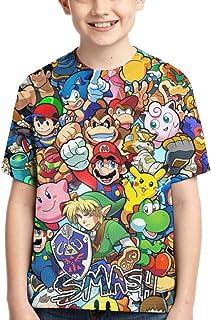 قمصان ماريو للأولاد قمصان مراهقون الجدة بلايز أزياء الشباب مضحك المحملة للأطفال