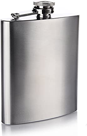 Cantil Porta Bebida De Bolso 270ml Inox 9oz - Whisky Vodka