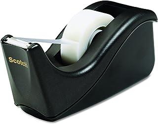 توزیع کننده نوار رومیزی اسکاچ ، 1 اینچ ، دو رنگ سیاه (C60-BK)
