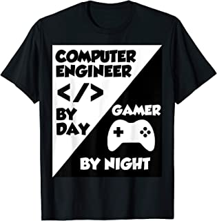Funny video gamers classic vintage computer science gift T-Shirt