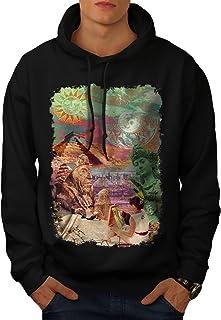 Frankenstein Casual Hooded Sweatshirt Wellcoda New Mens Hoodie