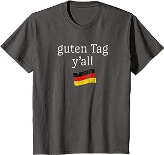 Kids Oktoberfest Child Tshirt Funny Saying Texas German Fest Flag