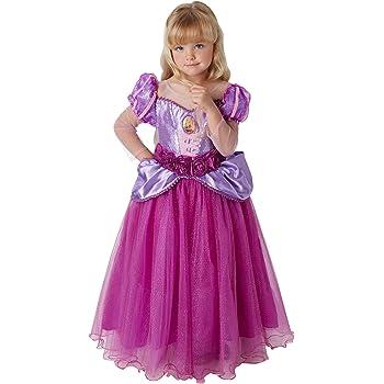 Princesas Disney - Disfraz de Rapunzel Premium para niña, infantil ...