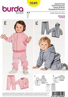 Burda Schnittmuster Kids 9349 Jacke und Hose, Papier, weiß, 19 x 14 x 0,5 cm