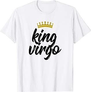 Mens King Virgo Star Sign Birthday August 23 to September 22 T-Shirt