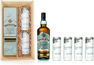 Shackleton Blended Whisky x 4 Red Bull (Coconut Edition) Gift box Bundle