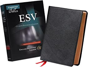 ESV Clarion Reference Bible, Black Edge-lined Goatskin Leather, ES486:XE Black Goatskin Leather