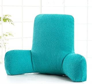 オフィス 車 腰椎パッド,枕を読む と 腕,リムーバブル 畳 サポート バックピロー テレビ枕 寝台兼用の長椅子の背もたれ ベッド用 背もたれ クッション-V 58x38x20cm(23x15x8inch)