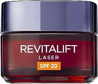 LOréal Paris Dermo Expertise Crema de Día Antiedad Revitalift Láser con Protección Solar (SPF20) y Proxylane 50 ml