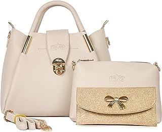 Nevis Women's Hand Held Bag & Sling Bag Pack Of 3