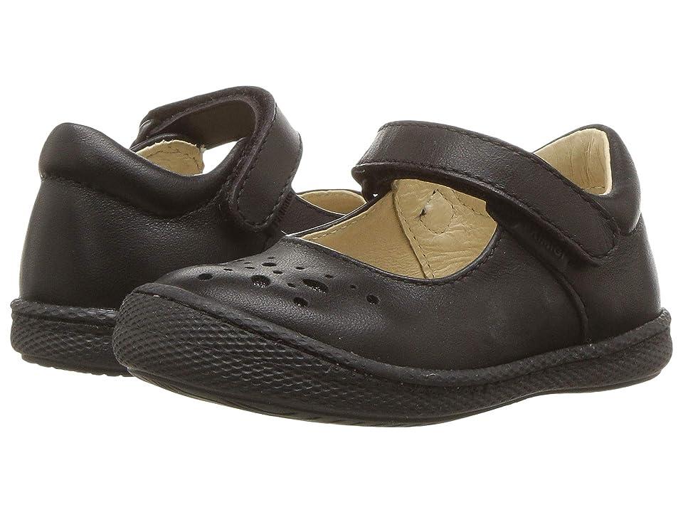 Primigi Kids PTF 24323 (Toddler) (Black Leather) Girl