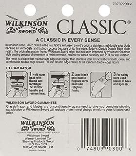 Wilkinson Sword Double Edge single Razor Cartridge, 40 blades