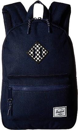 Medieval Blue Crosshatch/Checkerboard