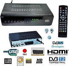 DECODER RICEVITORE DIGITALE TERRESTRE HD-999 DVB-T2 TV SCART HDMI 1080P REG PVR HD