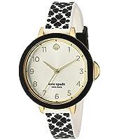 Kate Spade New York - Park Row Flower Silicone Watch - KSW1569