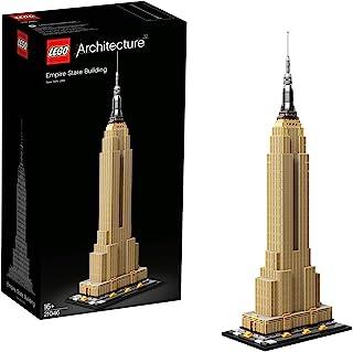 LEGO 21046 Architecture Empire State Building, New York Display en Verzamelmodel voor Volwassenen