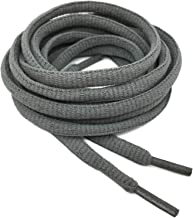 """DELELE 2Pair Oval Shoes laces 42 Colors Half Round 1/4""""Athletic ShoeLaces for Sport/Running Shoes Shoe Strings"""