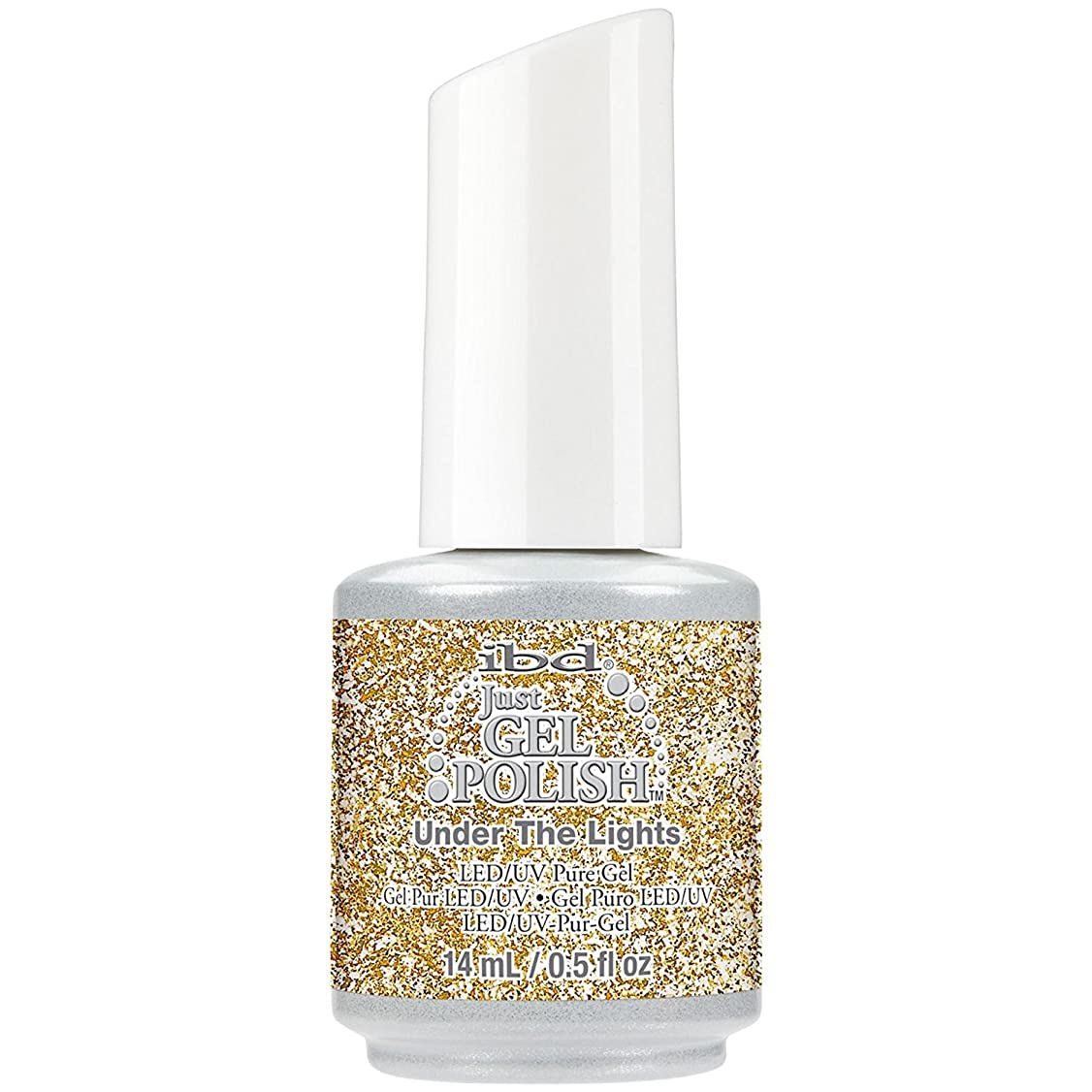 銛コントロール居間ibd Just Gel Polish - Diamonds+Dreams Collection - Under the Lights - 14 mL / 0.5 oz