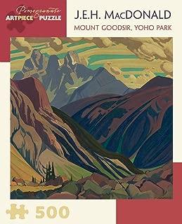 Pomegranate J.e.h. Macdonald Mount Goodsir, Yoho Park 500-piece Jigsaw Puzzle