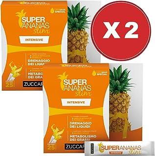 Offerta! Super Ananas Slim Intensive 2 Confezioni da 250 ml - Zuccari