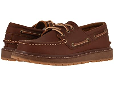 Sperry Kids AO Twisted Lug (Little Kid/Big Kid) (Dark Brown) Boy