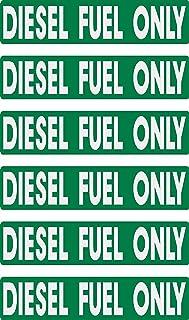 فقط سوخت دیزل ، تحویل سریع ، 6 بسته ، ضد آب ، روکش ، محافظت در برابر اشعه ماوراء بنفش ، محافظت در برابر اشعه ماوراء بنفش ، هشدار ، احتیاط ، توجه ، برچسب ها ، دکمه ها ، برای وسایل نقلیه ، ماشین ، کامیون ، بشکه ، می تواند ، علامت گذاری شود