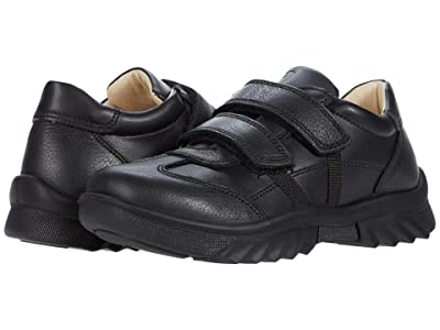 Primigi Kids 63946 (Little Kid) (Black Leather) Boy