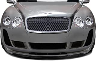 Aero Function Replacement for 2003-2010 Bentley Continental GT GTC Carbon AF-2 Front Lip Spoiler (CFP) - 1 Piece (Must be Used with Carbon AF-2 Front Bumper)