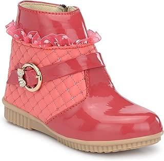Steprite Kids Girls Zipper Buckel Boots