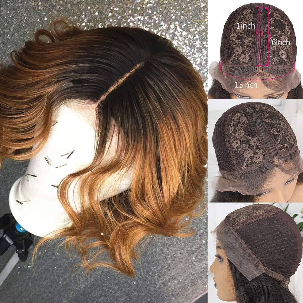 特売 ショップ Wicca 13x6x1 Lace Front Wigs T-Part Brazilian Wig Human Hai