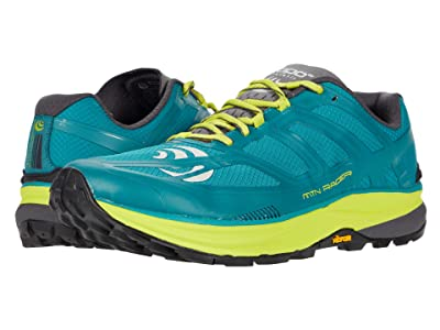Topo Athletic MTN Racer (Teal/Lime) Men