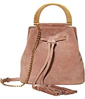 ZAC Zac Posen - Biba Buckle Soft Bucket Crossbody - Suede