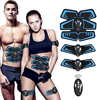 featured product ABS Stimulator,Abdominal Muscle,ABS Trainer Body Toning Fitness Toning Belt ABS Fit Weight Muscle Toner Workout Machine for Men & Women