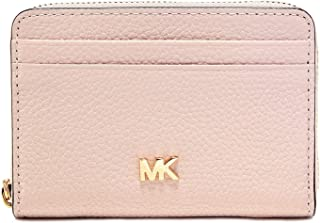MICHAEL Michael Kors Women's Small Pebbled Leather Wallet Pink