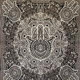 MOMOMUS Tapiz Mandala - 100% Algodón, Grande, Multiuso - Pareo/Toalla de Playa Gigante -...
