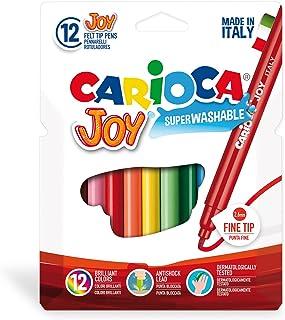 Carioca Joy Süper Yıkanabilir Keçeli Boya Kalemi, 12'li