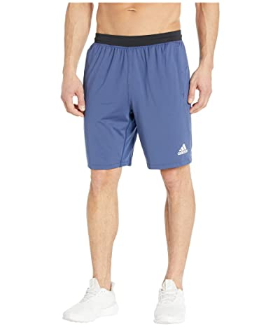 adidas 4KRFT Sport Ultimate 9 Knit Shorts (Tech Indigo) Men