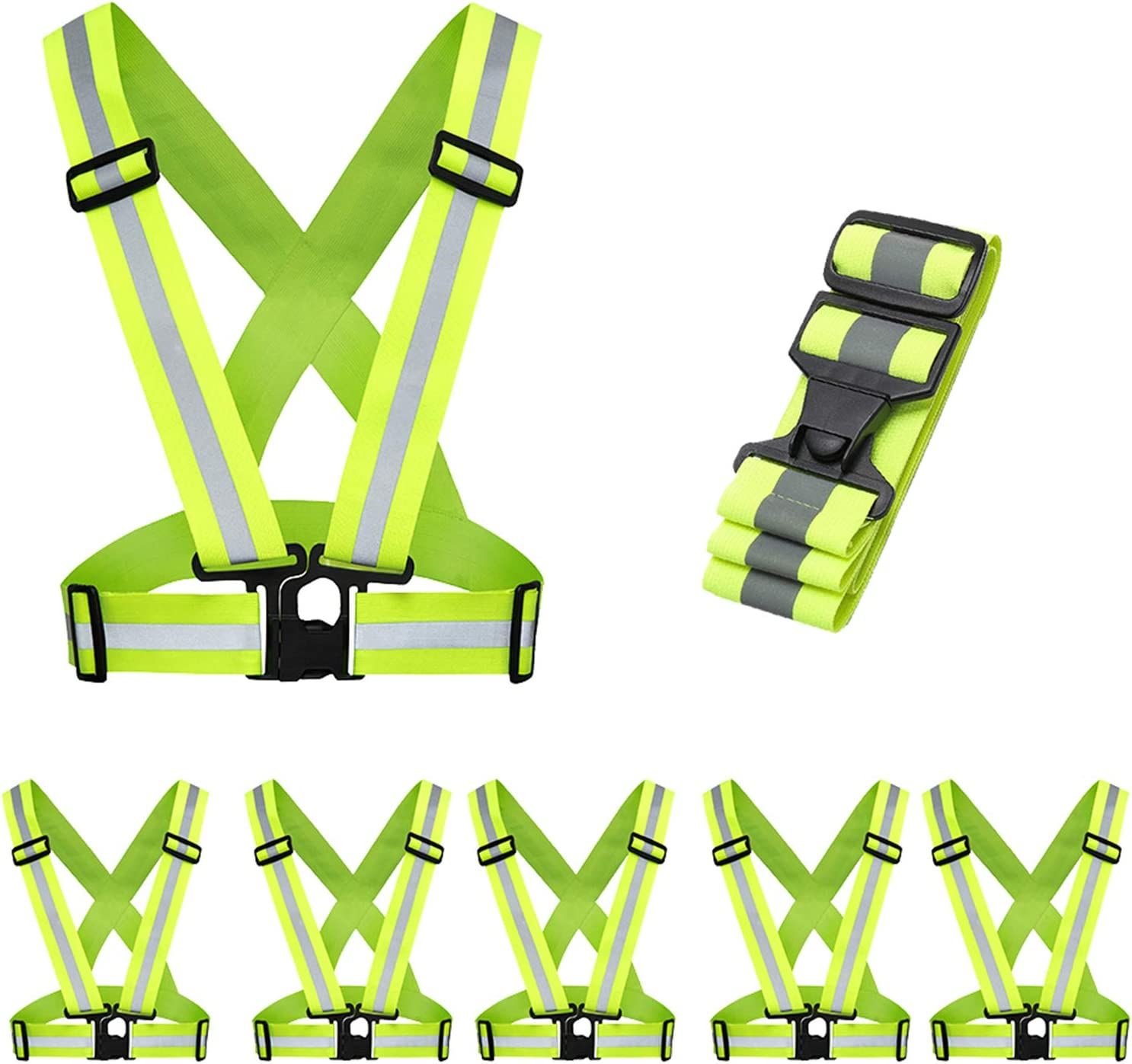 5 Pack Mount Marter Ranking TOP17 Reflective Safety Fo Lightweight New product! New type Vest