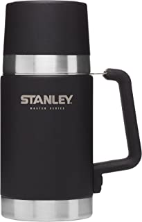 Stanley Master Vacuum Food Jar, Foundry Black, 24 oz