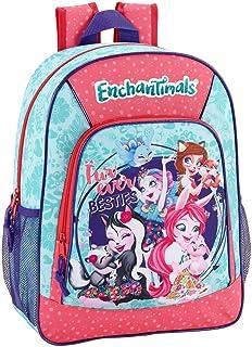 Enchantimals Oficial Mochila Escolar Niños 330x140x420mm