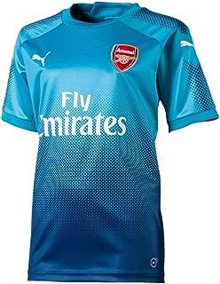 PUMA 2017-2018 Arsenal Away Football Soccer T-Shirt Jersey (Kids)
