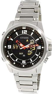 Citizen Men's Promaster Wingman JN5000-55E Silver Stainless-Steel Japanese Quartz Dress Watch