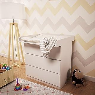 1011823743, Polini Kids Wickelaufsatz für Kommode MALM IKEA