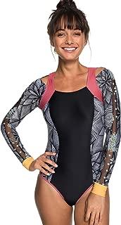 ROXY Women's Pop Surf Long Sleeve Onesie Swimsuit