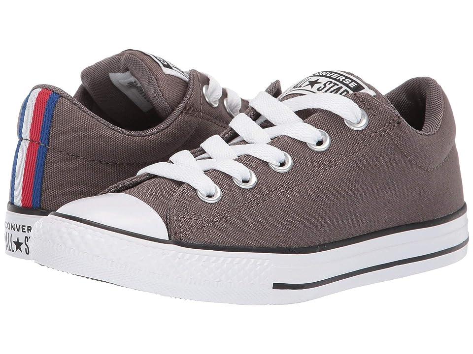 Converse Kids Chuck Taylor All Star Street Sport Webbing Slip (Little Kid/Big Kid) (Ridgerock/Black/White) Boys Shoes