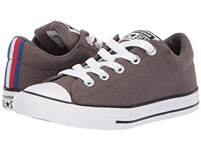 Converse Kids Chuck Taylor All Star Street Sport Webbing Slip (Little Kid/Big Kid) (Ridgerock/Black/White) Boys Shoes