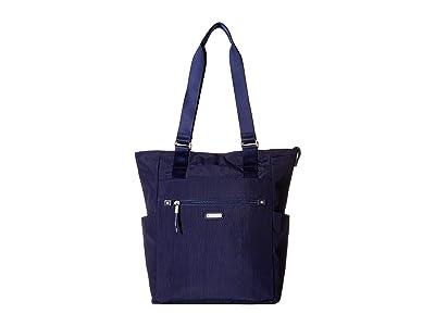 Baggallini New Classic Make Way Tote with RFID Wristlet (Navy) Handbags