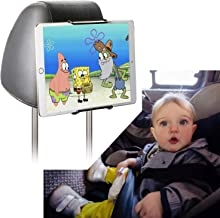 Juyeer Universal Car Headrest Mount Holder for Kid in Back Seats,Fit All 7~11 Inch Tablets-Apple Ipad Mini/Air/Pro 9.7 10.5, Kindle, Samsung Galaxy T