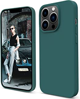 Migeec Compatible with iPhone 13 Pro Case Silicone Case Slim Soft Shockproof Protective Phone Case Cover with Microfiber L...